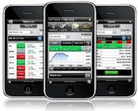 Trader Mobile con Iphone